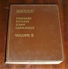 1972 Scott Standard Postage Stamp Catalogue Volume 2