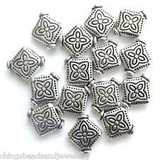 40 Tibetan Silver 10mm Spacer Beads Jewellery Making