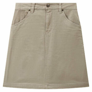 Dickies Shongaloo Ladies Fashionable Casual Wear Skirt Khaki