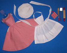 Vintage Barbie-Q Outfit #962 1959-1962 BBQ Chef's Hat Utensils Shoes Potholder