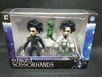Loyal Subjects Edward Scissorhands Figure Set Walmart Exclusive GID Dino Glows