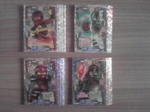 LEGO NINJAGO SERIE 2 TCG: 3x SPEZIALFOLIEN KARTEN o. mehr aussuchen wählen Cards