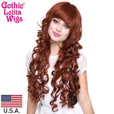 Gothic Lolita Wigs® Duchess Elodie™ Collection - Auburn Mix -00048 Wig USA