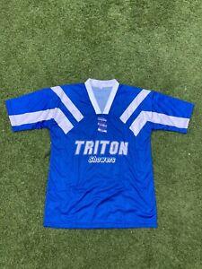 Birmingham City 92-93 (Worn Late In The Season) Home Shirt Medium With Sponsor