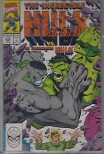 The INCREDIBLE HULK # 376 signed Peter David graded CBCS 9.2