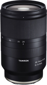 New Tamron 28-75mm f/2.8 Di III RXD Lens for Sony E A036