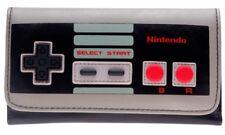 Nintendo Controller Snap Close Tri Fold Hand Purse Clutch Wallet