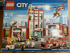 Lego CITY - Firestation - 60110 - 100% Complete With Box And Manuals