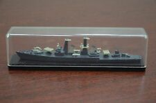 Vintage Soviet Russian Navy Ship Soviet Metal Desktop Model Warship Varyag USSR