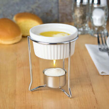 American Metalcraft Butter Warmer With 2 oz Ramekin & Candle Free Ship USA Only