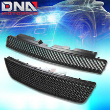06-16 CHEVY IMPALA MESH FRONT UPPER+LOWER HOOD BUMPER ABS GRILL/GRILLE GUARD KIT