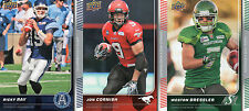 2015 Upper Deck CFL Complete Set 1-200 Offense Defense All Stars Rookies