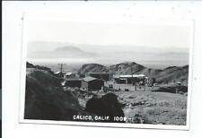 Real Photo Postcard Post Card Calico California Cal Ca