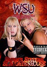 WSU Womens Wrestling - Satan's Sisters  DVD Luna Vachon Missy Hyatt