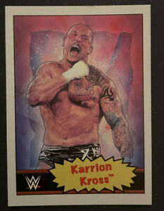 2021 Topps WWE Wrestling Living Set Karrion Kross #39 Trading Card SP /686