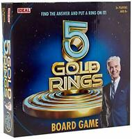 Ideal Five Gold Rings Board Game of Knowledge & Skill - Based on the ITV Show