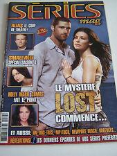 SERIES MAGAZINE N° 34  ANNEE 2005 . LOST . SMALLVILLE . ALIAS .