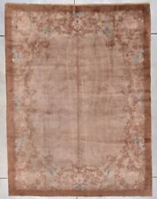 "Art Deco Chinese Oriental Rug 8'2"" X 10'9"" #7920"