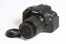 Canon EOS 600D mit Canon EF-S Zoom Lens 3,5-5,6/18-55 IS II