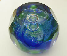 """Limited Edition Caithness """"Lagoon"""" Paperweight Margot Thomson(53/150) - <3"""""""