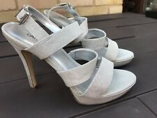 Wedding -Prom Silver Shoes