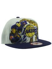 New Era NBA Los Angeles Lakers 9fifty Snapback Hat Marvel Comic Adjustable White
