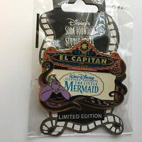 DSF - El Capitan Theater Marquee - The Little Mermaid - LE 500 Disney Pin 49124