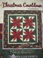 Thimbleberries Book - CHRISTMAS COUNTDOWN - Quilts Gifts Decorations - VGC