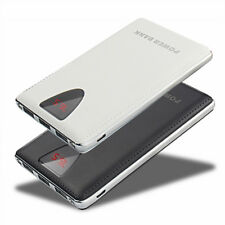 Portable 50000mAh Power Bank 3USB LCD Battery Charger For iPhone 8 X 8Plus XS XR