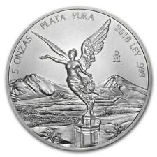 2018 Mexico 5 oz Silver Libertad BU - SKU #169927