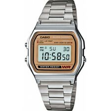 Casio A158wea Classic Retro Digital Chronograph Watch Men's Casual Watches