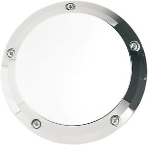 Joker Machine Chrome Smooth Derby Cover for 1999-2017 Harley Twin Cams 06-99S