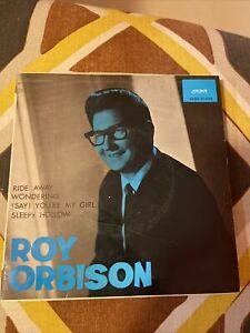 """Roy Orbison. Ride Away. Vinyl 7"""". Ep. Spain 1965. Pop rock"""