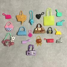 Barbie Doll Mix Purse Clutch Handbag Lot of 19 Evolution Fashionistas Glam Luxe