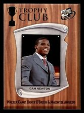 Cam Newton 2011 Press Pass Trophy Club RC Carolina Panthers