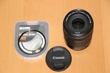 Canon EF-S 18-135mm f/3.5-5.6 IS STM Estabilizador De Imagen Lente. con Caja Y Filtro