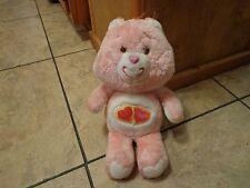 "1983 Kenner-Care Bears-13"" Love A Lot Bear (Cute)"