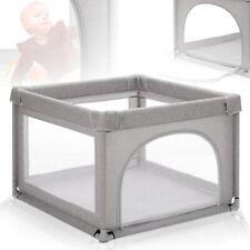 Kinder Baby Laufstall mit Einstieg Reise Bett Laufgitter Spielstall Spielgitter