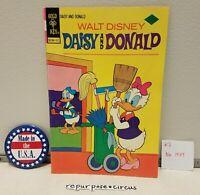 ❤VINTAGE Walt Disney Daisy & Donald Comic #7 Nov,1974 UNIQUE VALENTINE'S GIFT