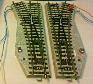 Märklin H0 5202 Electric Pair of Switches M Track Premium Condition