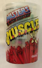 SUPER7 MUSCLE Multi Color Trash Can SDCC 2016 MOTUSCLE MASTERS OF THE UNIVERSE