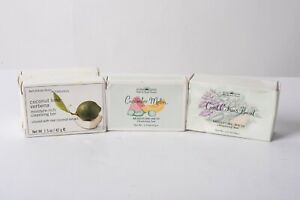 Lot 5 Bath & Body Works Soaps Cucumber Melon Citrus Basil Coconut Lime Verbena