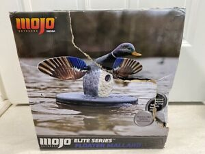 MOJO Outdoors HW2494 Elite Series Floater Mallard Drake Duck with Remote Control