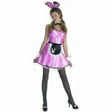 Hottie Tottie Adult Sexy HUNNY BUNNY Girl Playboy Fancy Dress Costume size 10-12