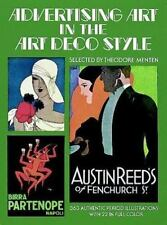 Pictorial Archive: Advertising Art in the Art Deco Style (1975, Paperback)