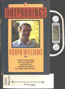 Outpourings - SC 1st Ed by Robyn Williams of the ABC