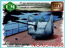 um-mt 1/72 URSS 37mm/67 (3.8Cm) 70-k ARTIGLIERIA PISTOLA 657/008