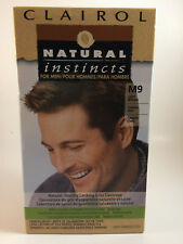 Clairol Natural Instincts Hair Color For Men M9 Light Brown 1 BOX!