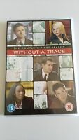 SIN RASTRO WITHOUT A TRACE PRIMERA TEMPORADA 1 COMPLETA 4 DVD ESPAÑOL ENGLISH
