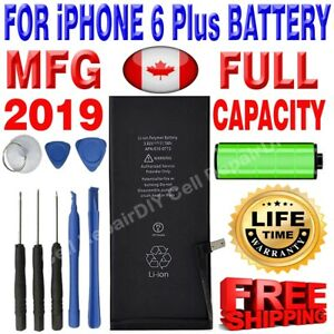 Brand NEW OEM Replacement iPhone 6 Plus Battery 2915 mAh with Free Tools